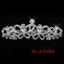 Bridal Wedding Tiara Crown Headband crystal headband jewelry head chain headband