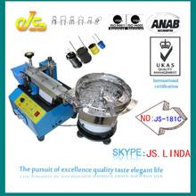 High speed cheap JS-181C Bulk electronic component names cutting machine