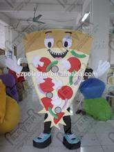 pizza mascot costumes Restaurant open party