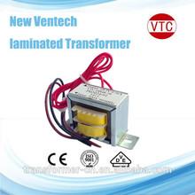 24V laminated power transformer 5w-40w with CE UL approval