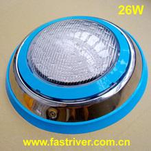 2014 modern 26W stainless steel IP68 led underwater lights wireless
