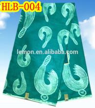 Wonderful design real wax African Bazin fabric