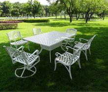 Bahçe mobilyaları döküm demir masa ve sandalye 101215f+201215z