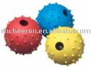 Dog toy,rubber ball
