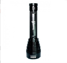 TrustFire TR-J18 8000lm LED flashlight High Power rechargeable led torch light manufacturers