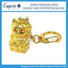 High quality lovely nautical brass keychain
