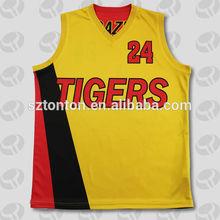 2014 American new design men's sublimatiom basketball jersey