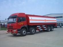 Jiefang 8*4 chemical liquid tanker truck 25000L