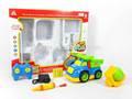Brinquedo de plástico R / C caminhão construção com carregador