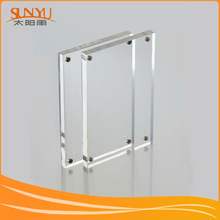 Decorative Ssquare acrylic photo frame backboard
