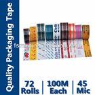 bopp film adhesive tape logo for carton box