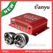 mp3 player led audio amplifier bajaj passenger three wheel motorcycle