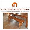 2014 best design wood garden benches/Pine Garden Picnic Bench