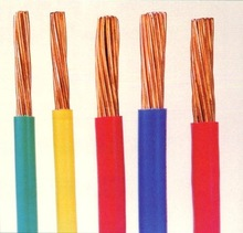 Free sample hot sell PVC insulated copper conductor pvc insulated copper electric wire