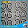 POM 1601 1602 1603 1604 1605 plastic bearing deep groove glass ball bearing