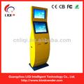 Electronic quiosque terminais de pagamento/bill aceitador quiosque/quiosque