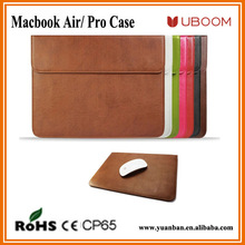 Fashion design for macbook leather 13 inch laptop sleeve