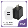universal Wall charger ,2.1A dual usb home charger,android tablet travel charger