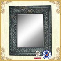 shabby chic framed wooden fashion wall mirror