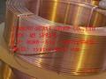 el agua del tubo de cobre de la fábrica