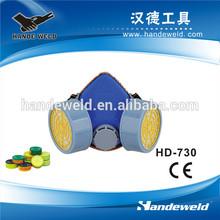 Double respirator custom respirator mask