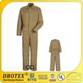 de algodón de nylon a prueba de fuego la ropa de protección para el soldador y la mía