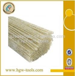 diamond + green silicon carbide nylon brush abrasive filaments