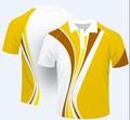 Custom 100% algodão esporte uniforme dri fit camisa pólo