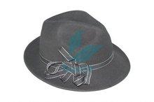 Make australian wool felt fedora hats for man