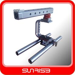 SUNRISE Professional Aluminum BMPCC Cage for Black Magic Pocket Cinema Camera