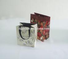 china shopping craft paper bag with matt lamination