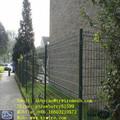 Résidentiel clôture compensation, Mur de protection, Soudé Way ( enduit de poudre vert )