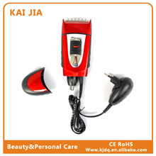 KJ-3026 Rechargeable shaver for man in luck red color