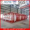 Asphalt transportation 20feet ISO tank container