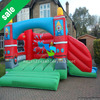 Fire truck inflatable bounce house for sale