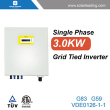 Outdoor 3kw power jack inverter with solar panel mounting brackets for home solar power system