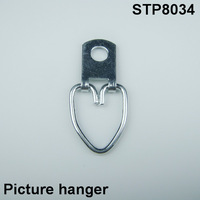 zinc plated picture frame hanger/picture frame hanger/picture frame wall hangers