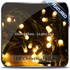 thai led fairy string light white rattan 20 star ball plug christmas tree lamp