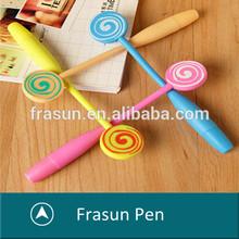 Fancy Surface Barre Lollipop Style Schol Writing Artistic Pen