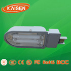 half spiral hot sale tri color base e27/b22 daylight energy saving light induction street lamp