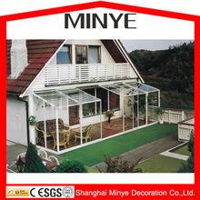 high quality tempered glazed aluminum sun room/sunrooms/outdoor glass room