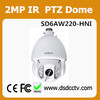 SD6AW220-HNI dahua ptz controller cctv ptz dome camera Support Wipe