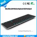 Ultra ince 2.4G kablosuz mini kablosuz akıllı tv kablosuz fare ve klavye