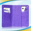 Hot stylish leather flip case for lg optimus l3 e400