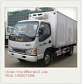 Caminhão de transporte refrigerado, refrigeração de transporte, caminhão frigorífico van para carne e peixe