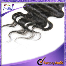 FREE SHIPPING Body Wave Brazilian Virgin Hair Lace Closure New Star Closure Free Part Middle Part Lace Top Closure