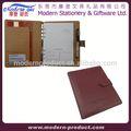 Personalizado organizador pessoal de couro notebook/tampa de pvc diário