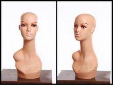 Más barato de exhibición del cabello la cabeza del maniquí venta
