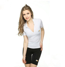 2014 Hot Selling Women's Compression tight T Shirts cotton factory t shirts