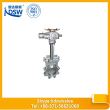 2014 top quality lug type rising stem knife gate valve